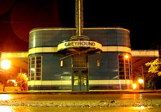the old greyhound station | by qichao