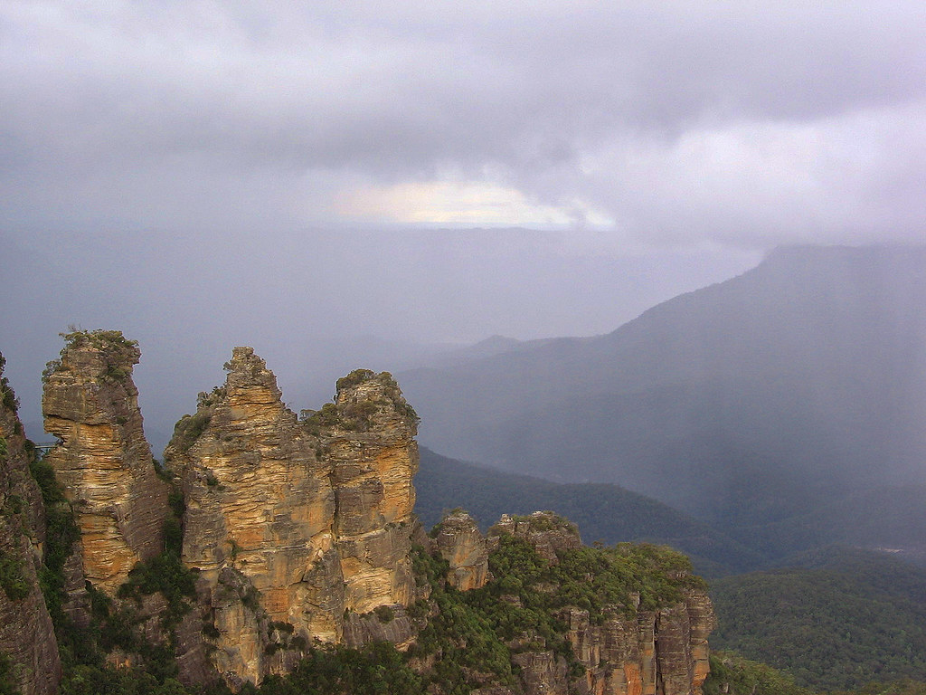 Three Sisters, Blue Mountains, Katoomba, NSW, Australia, fotoeins.com