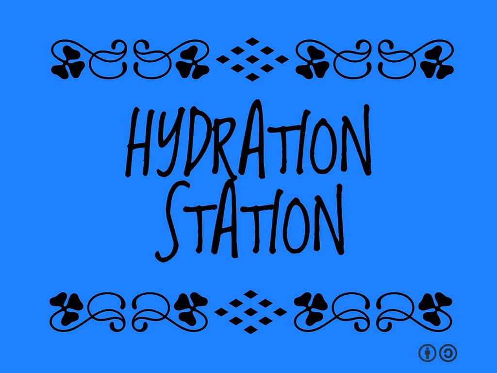 buzzword bingo  hydration station