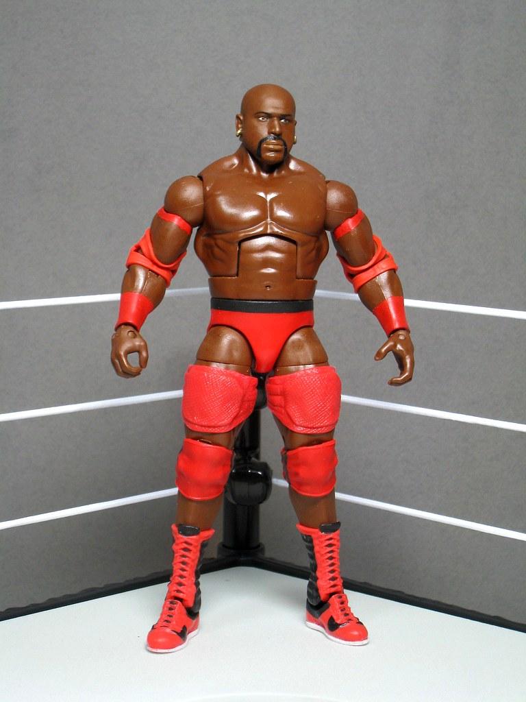 Mattel wwe elite legends ahmed johnson custom made modi for Custom elite com