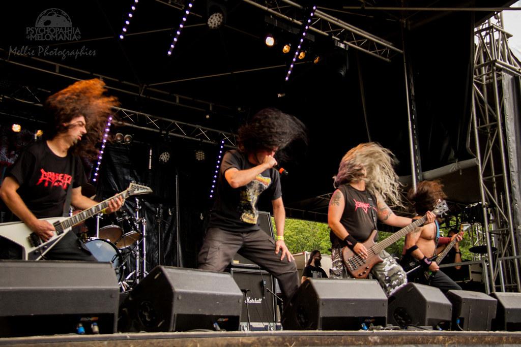 Avulsed @Motocultor Festival 2015, Kerboulard, Saint-Nolff 15/08/2015