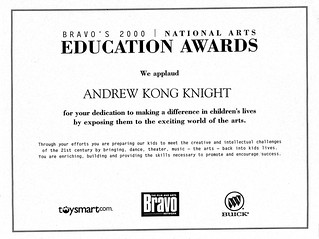 National Arts Education Award - Bravo Film and Arts Network | by Award-winning Artist & Art Educator