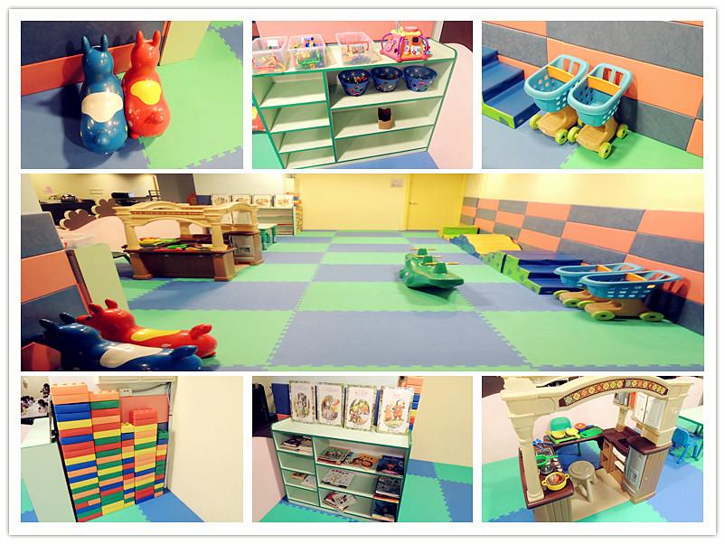 各種兒童遊樂設施