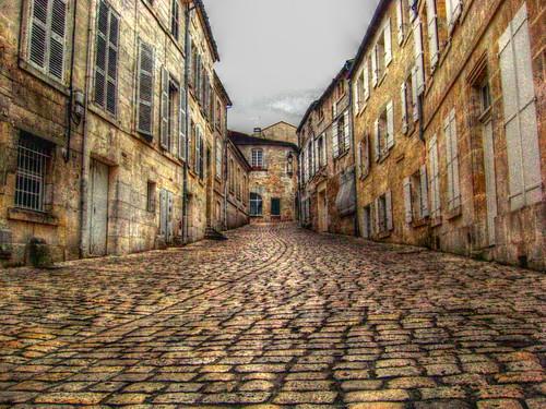Cognac - cobbled street