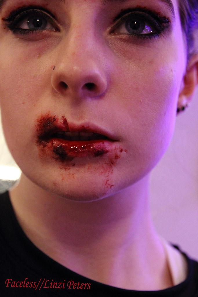 SFX Cut Lip And Cut Crease   More Photos Of My SFX Makeup ...