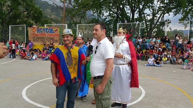 VII Cabalgata Solidaria de Reyes Magos de ACYCOL Enero 2017  Piedecuesta / Santander del Sur Colombia  *Mónica Martínez ACYCOL