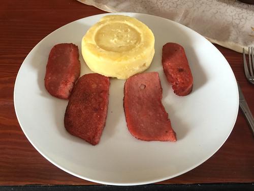 153 - Schinken & Kartoffelpüree / Ham & mashed potatoes