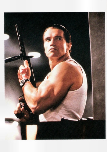 Arnold Schwarzenegger in Raw Deal (1986)