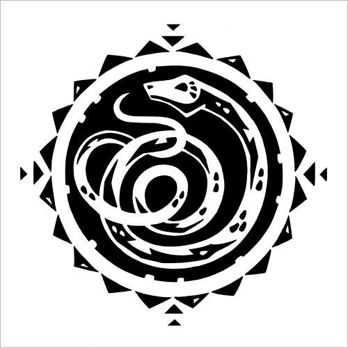 Chinese Zodiac: Snake / Китайский зодиак: змея