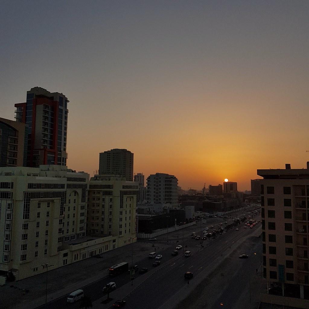 Sunsets at Bahrain