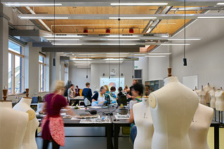 Costume Construction degree students in the Bob and Tamar Manoukian Costume Centre. Nicholas Hare architects © Alan Williams Photography | by Royal Opera House Covent Garden