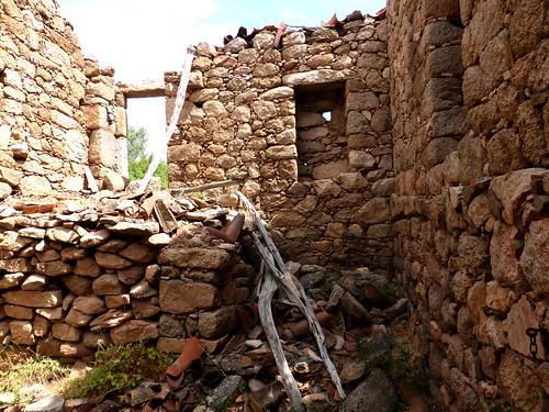 L'intérieur de la 2ème maison de Ghjuncaghjola