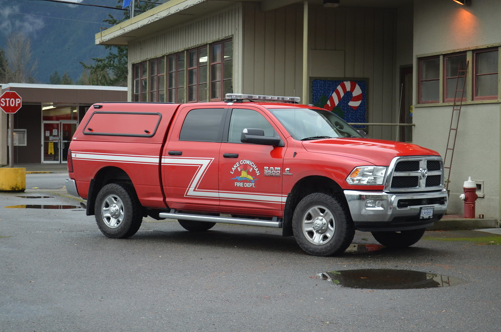 Lake Cowichan Fire Department Chief Dodge Ram 3500 Flickr