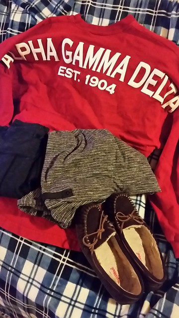 2016 Holiday Travel Outfit