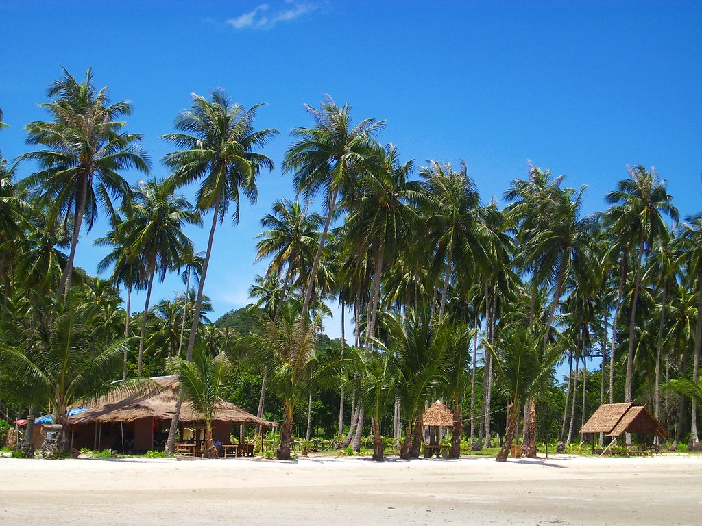 Thajsko ostrovy koh chang