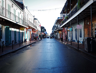 Bourbon Street in the morning. New Orleans. | by KTDrasky