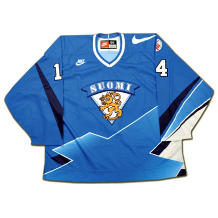 Finland 1996 F jersey copy