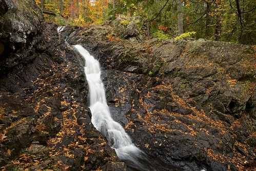 Crystal Falls Sault Ste Marie Crystal Creek Flows Over