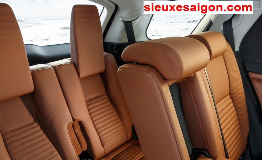 Nội thất xe Land Rover new Discovery SPort màu da bò 5 ghế