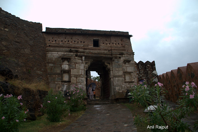 One of the gate on way to the Palace, Kumbhalgarh Fort Rajasthan