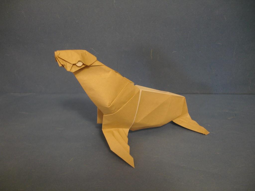 Fur seal in seop lee origami pro finally folding some flickr fur seal in seop lee origami pro by shukikato jeuxipadfo Gallery