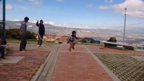 Juegos tradicionales en San Rafa