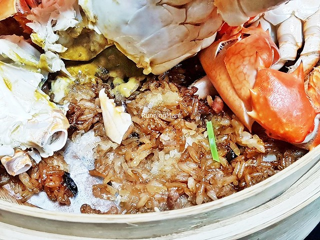 Crabs With Glutinous Rice
