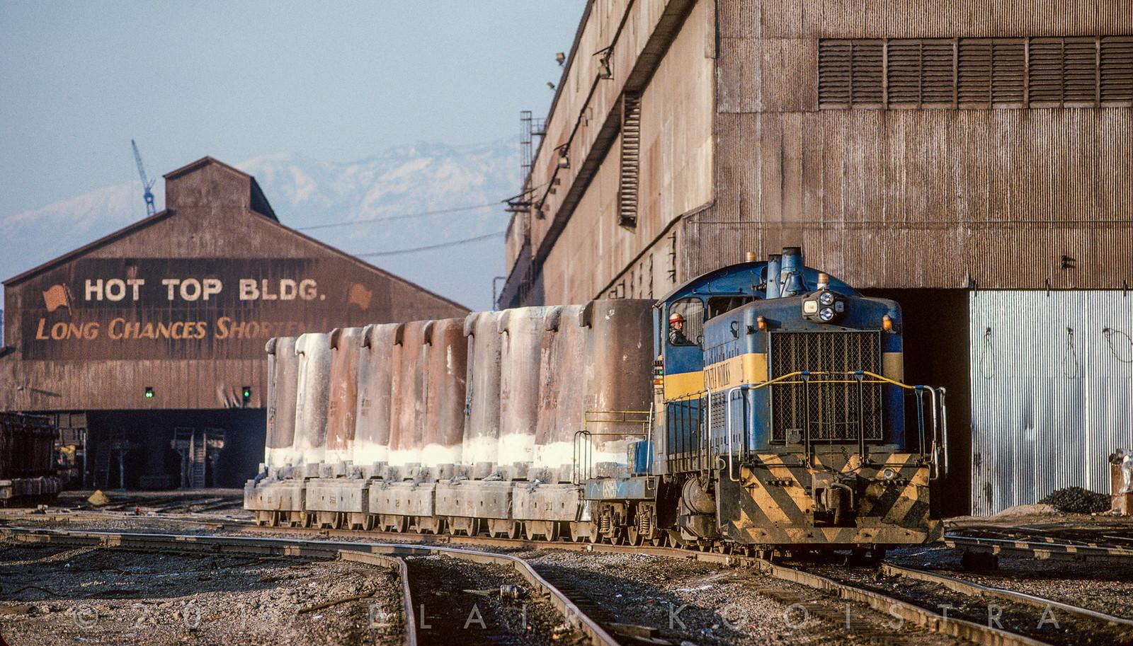 The Railroad at Geneva Steel, Utah, 1987-1992 | Flickr