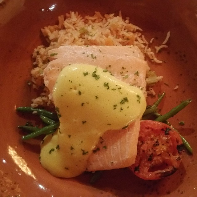 Dine Out Vancouver 2017 - Burnaby Mountain Clubhouse - Poached Steelhead
