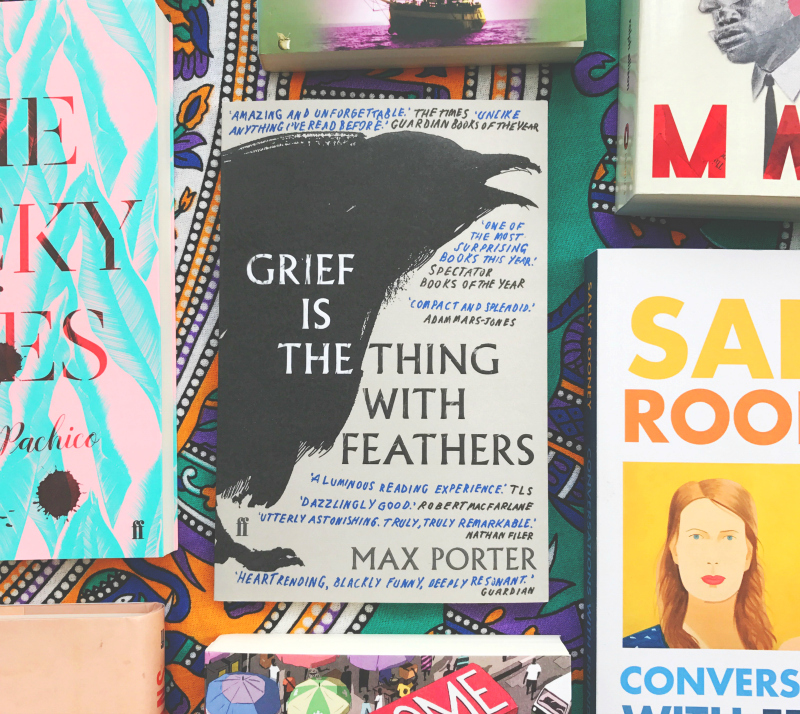 grief is the things with feathers max porter book haul book bloggers in the uk vivatramp