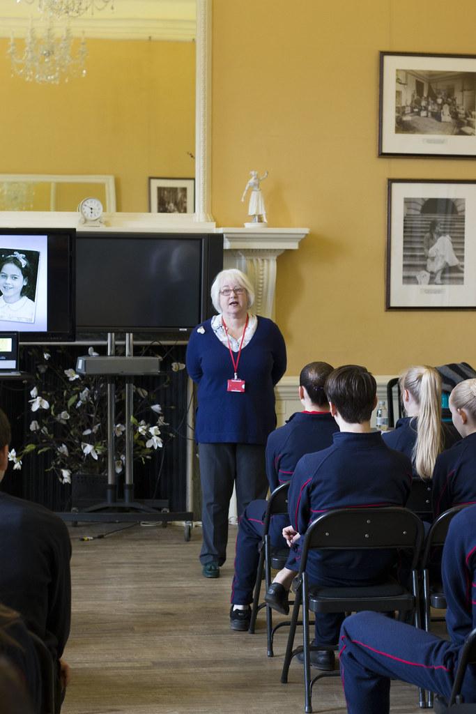 Visit from Joan Salter