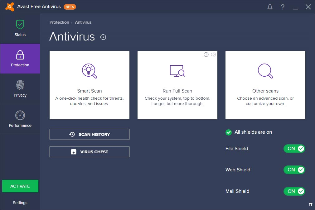 Avast 2017 Beta All Product (Pro Premier Internet Security) + License File