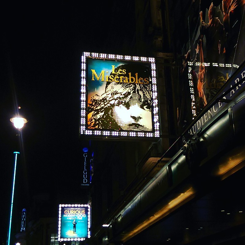 This is a photo of the queens theatre in London