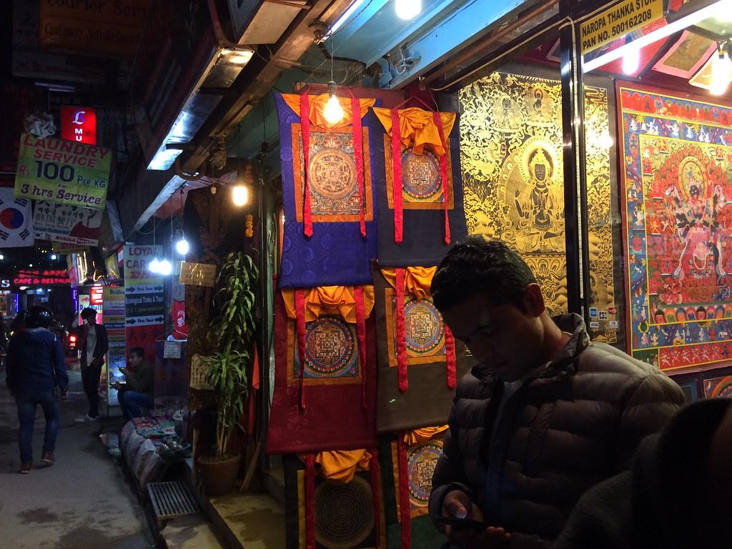 Streets of Thamel, Nepal