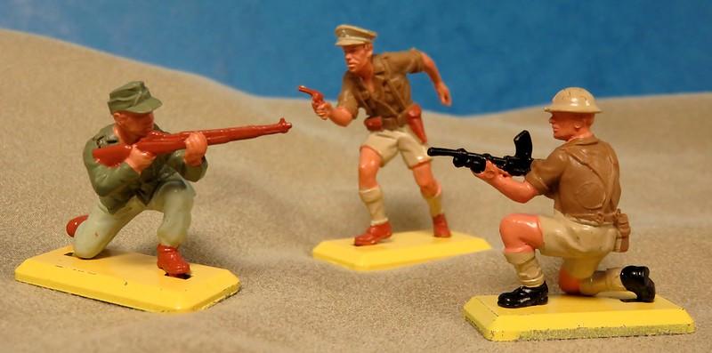 Toy soldiers, cowboys, indians, space men etc 33155726005_77439ff8dd_c