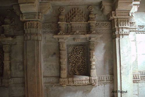 Adalaj Ni Wav , Step well, Stone carved Kalpvriksh , Ahmadabad