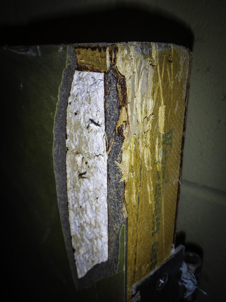 Labeled Weyerhaeuser Core Asbestos Fire Rated Door Quot Fire