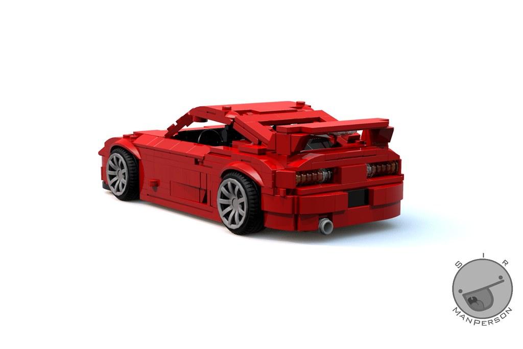 Toyota Supra 10 Wide Lego I Like The Shaping I Got