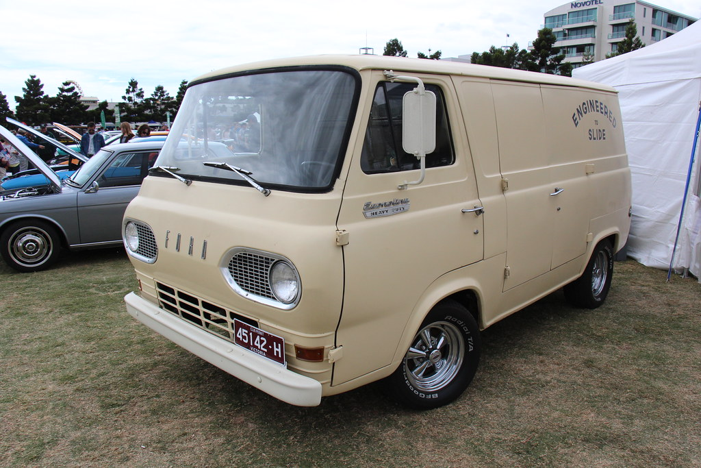 1964 Ford Econoline Heavy Duty Delivery Van The Ford