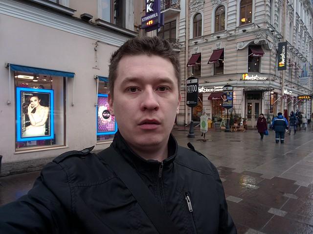 Снимок с фронтальной камеры LG Nexus 5X