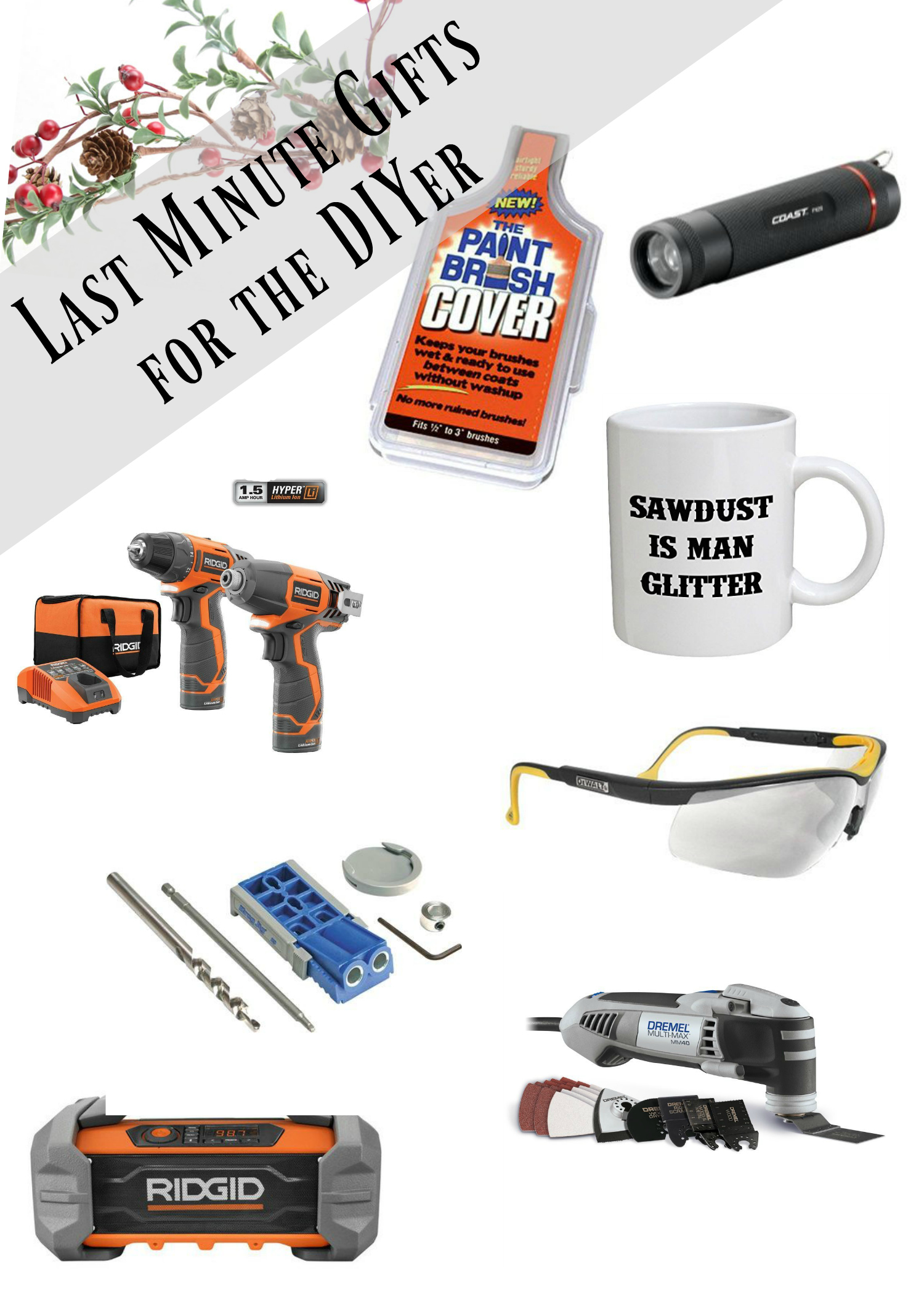 DIY gift guide last minute