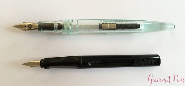 Review Franklin-Christoph Model 66 Antique Glass Fountain Pen @1901FC 5