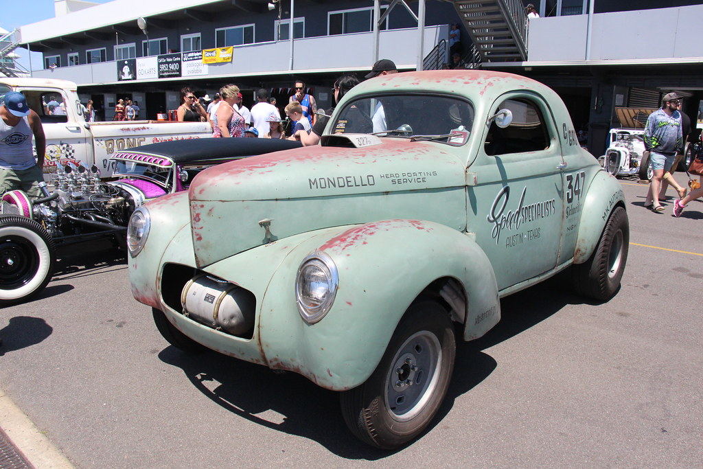 1941 Willys Americar 441 Gasser Coupe Facing Bankruptcy