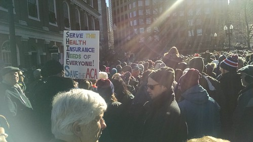 Rally in Boston