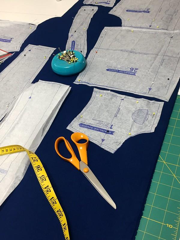 Cascade Duffle Coat Progress