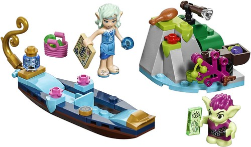 Naida's Gondola & the Goblin Thief 41181 set