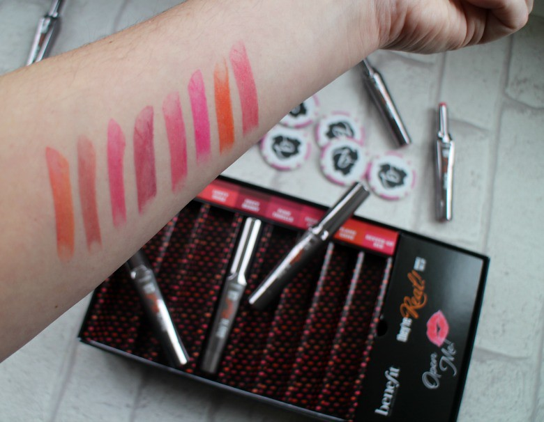 Benefit They're Real! Double The Lip Swatches