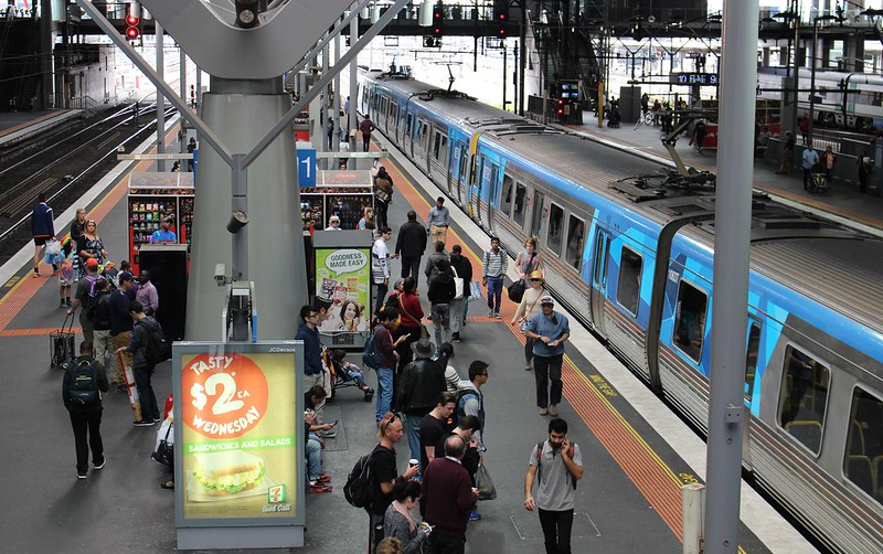 Southern Cross Station, platforms 11+12
