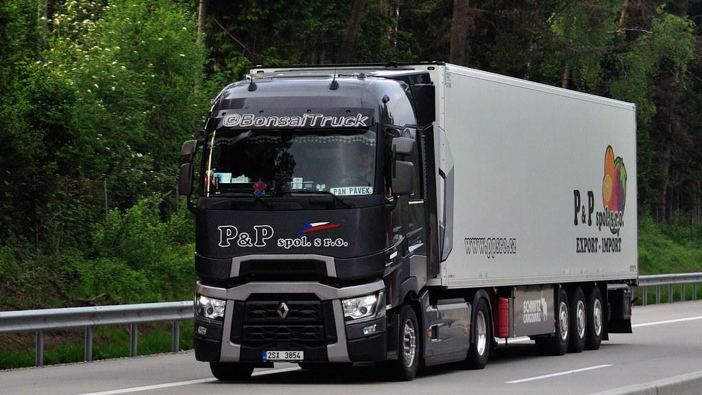 CZ - P&P spol. s.r.o. Renault Range T Highsleeper | BonsaiTruck | Flickr