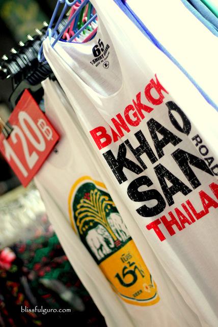 Khao San Road Bangkok Singlet